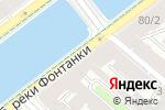Схема проезда до компании Экивокибар в Санкт-Петербурге