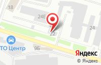 Схема проезда до компании Металлопром в Подольске