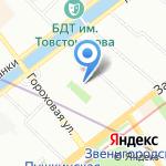 Аварийка.ру на карте Санкт-Петербурга