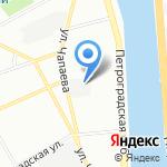 ЭМТН на карте Санкт-Петербурга