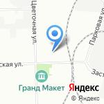 Севзапкомплектавтоматика на карте Санкт-Петербурга