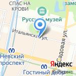 Inner voice на карте Санкт-Петербурга