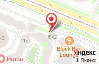 Схема проезда до компании Нитридные Кристаллы - Уф в Санкт-Петербурге