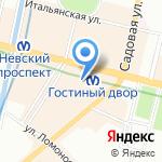 Международная Академия Музыки Елены Образцовой на карте Санкт-Петербурга