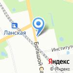 Патиссон на карте Санкт-Петербурга