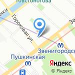Первое Ипотечное Агентство на карте Санкт-Петербурга