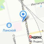 Управление Пенсионного фонда РФ в Выборгском районе на карте Санкт-Петербурга