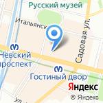 DK fashion на карте Санкт-Петербурга