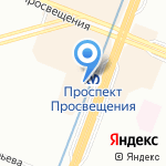 Квартира-СПб на карте Санкт-Петербурга