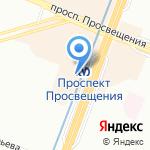 Keylock на карте Санкт-Петербурга