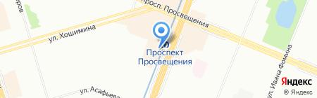 Двери Сток на карте Санкт-Петербурга