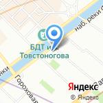 Армор на карте Санкт-Петербурга