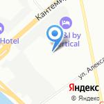 ПрофСтройКлимат на карте Санкт-Петербурга