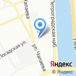 Артис на карте Санкт-Петербурга