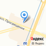Цветы 24+ на карте Санкт-Петербурга