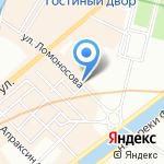 Герон на карте Санкт-Петербурга