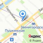 Prades на карте Санкт-Петербурга