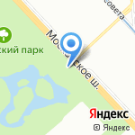 Храм Рождества Христова на карте Санкт-Петербурга