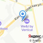 Институт комплексного проектирования на карте Санкт-Петербурга