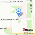 Travel на карте Санкт-Петербурга