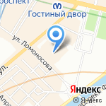 Легис на карте Санкт-Петербурга