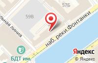 Схема проезда до компании Сотка.Ру в Санкт-Петербурге