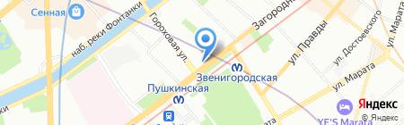 Кэш Пеймент Технолоджи на карте Санкт-Петербурга