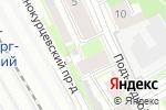 Схема проезда до компании КИФ в Санкт-Петербурге