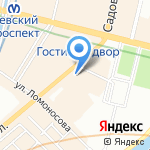 PG VG на карте Санкт-Петербурга