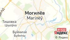 Гостиницы города Могилев на карте