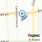 Амелия на карте Санкт-Петербурга