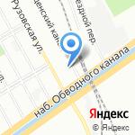 Эверест на карте Санкт-Петербурга