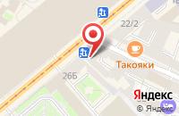 Схема проезда до компании Фэйсконтроль в Санкт-Петербурге