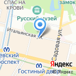 Европейский Центр Судебных Экспертов на карте Санкт-Петербурга