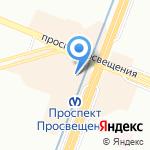 Лукоморье на карте Санкт-Петербурга