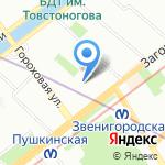 Военторг-Запад на карте Санкт-Петербурга
