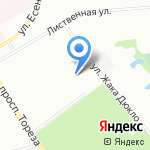 Planet Crosskart на карте Санкт-Петербурга