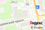 Схема проезда до компании Галантерейный магазин в Санкт-Петербурге