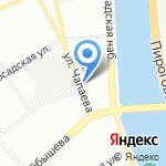 Фаворит на карте Санкт-Петербурга