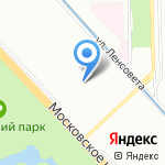 Студиум на карте Санкт-Петербурга