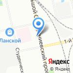 ДИКСИ на карте Санкт-Петербурга