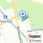 Creative на карте Санкт-Петербурга