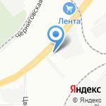 ТЦ-СЕРВИС на карте Санкт-Петербурга