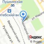 Себор на карте Санкт-Петербурга