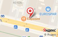 Схема проезда до компании Сундук в Санкт-Петербурге
