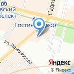 Дюйм на карте Санкт-Петербурга