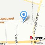 Сквирел на карте Санкт-Петербурга