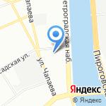 Информационно-методический центр Петроградского района на карте Санкт-Петербурга