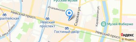 ГелиосТрэвэл на карте Санкт-Петербурга