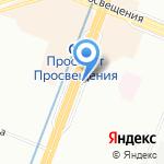 ВЭЛ на карте Санкт-Петербурга